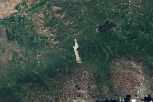 USA - Kolejne ogromne osuwisko w Kolorado, 5 km długie i 1.5 km szerokie 7 czerwca 2014