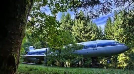 USA - Przerobił boeinga 727 na dom