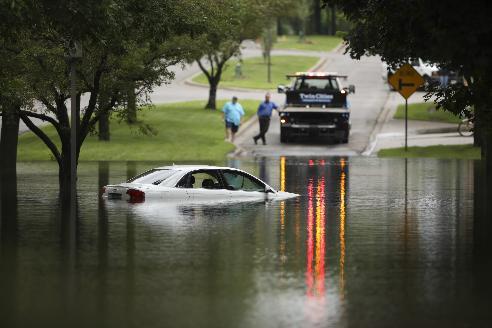 USA - Rekordowe ulewy w Minnesocie, tak mokro nie było od 140 lat, Missisipi podtapia Minneapolis 1
