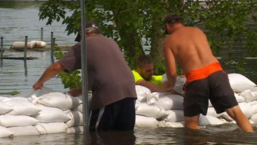 USA - USA - Rekordowe ulewy w Minnesocie 2