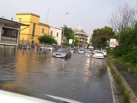 Włochy - Ulewy w Rzymie 3