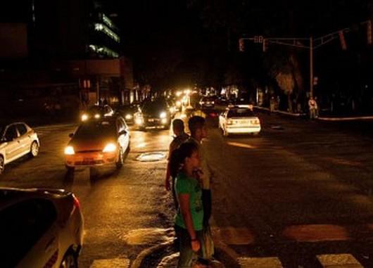 Wenezuela - blackout w Caracas