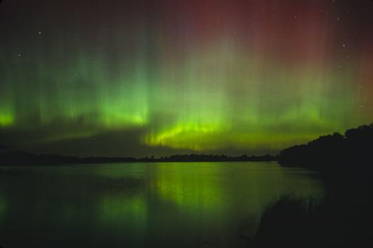 Zorza polarna nad Minnesotą 2