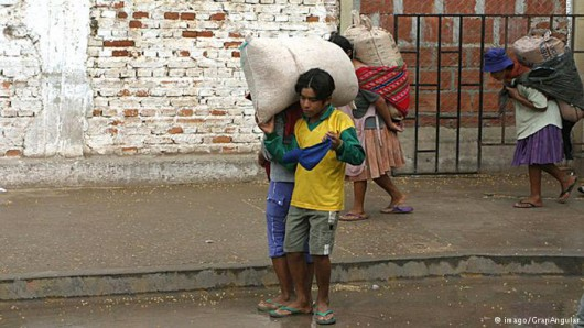 Boliwia - Pracujące dzieci