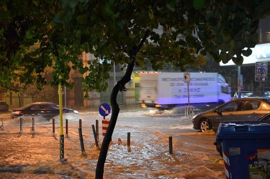 Grecja - Intensywne opady deszczu 1