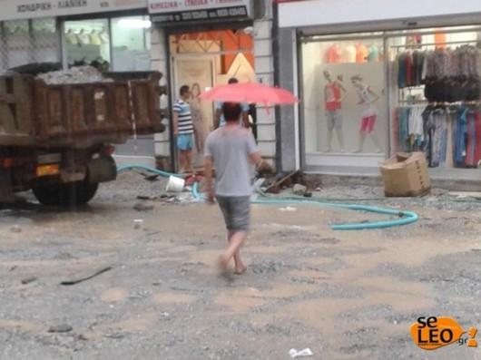 Grecja - Intensywne opady deszczu 3