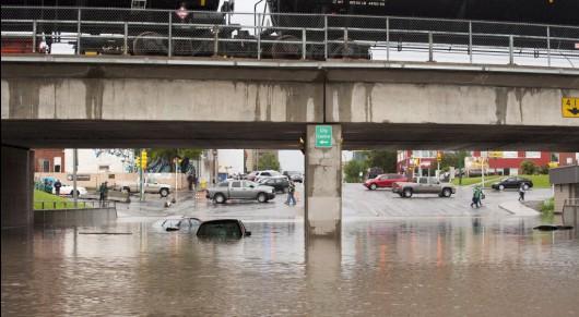 Kanada - Stan wyjątkowy z powodu powodzi został ogłoszony w 90 miastach 2