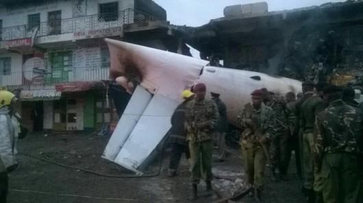 Kenia - Samolot towarowy uderzył w biurowiec w Nairobi 2