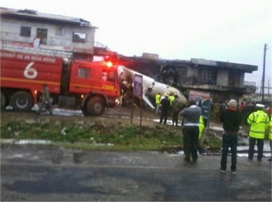Kenia - Samolot towarowy uderzył w biurowiec w Nairobi 5