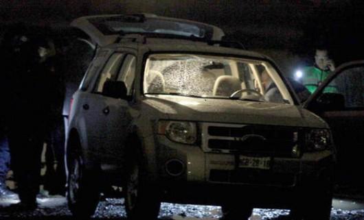 Meksyk - Policja odzyskała skradzioną furgonetkę z radioaktywnym irydem 192