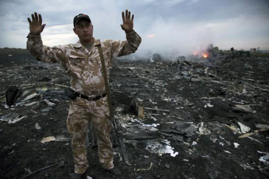 Nad Ukrainą rozbił się Boeing 777 malezyjskich linii lotniczych 2