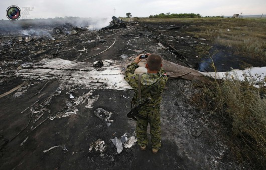 Nad Ukrainą rozbił się Boeing 777 malezyjskich linii lotniczych 7