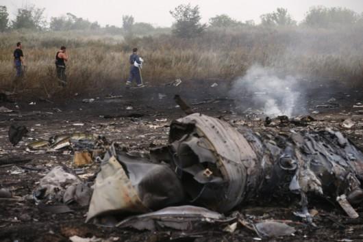 Nad Ukrainą rozbił się Boeing 777 malezyjskich linii lotniczych 8