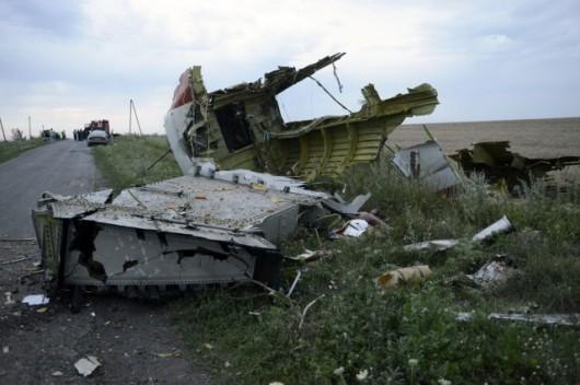 Nad Ukrainą rozbił się Boeing 777 malezyjskich linii lotniczych 9