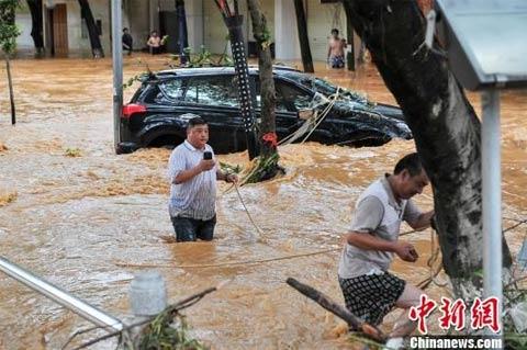 Powódź w Chinach 2