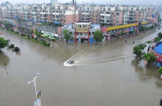 Powódź w Chinach 3