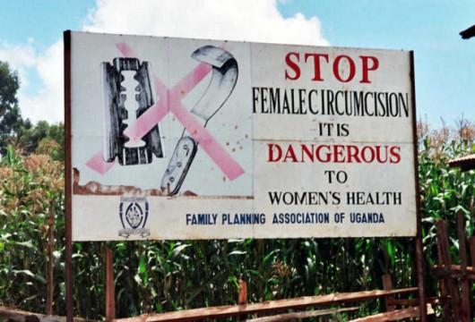 Problem obrzezania kobiet pojawił się wraz z imigrantami z Afryki