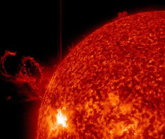Słońce - CME z 2014.07.08