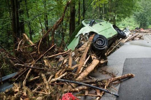 Słowacja - Powódź zniszczyła Dolinę Vratna 10