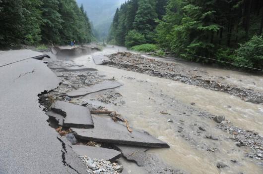 Słowacja - Powódź zniszczyła Dolinę Vratna 11