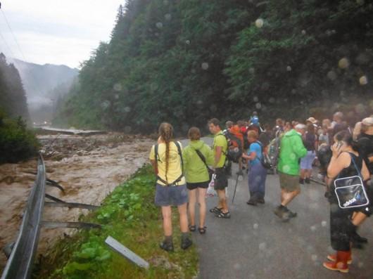 Słowacja - Powódź zniszczyła Dolinę Vratna 12