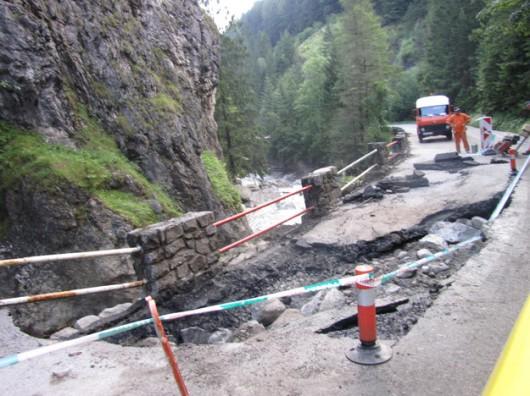 Słowacja - Powódź zniszczyła Dolinę Vratna 13