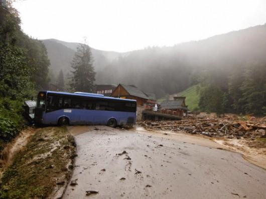 Słowacja - Powódź zniszczyła Dolinę Vratna 15