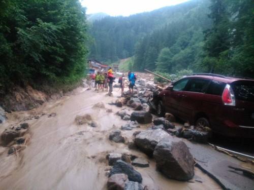 Słowacja - Powódź zniszczyła Dolinę Vratna 3