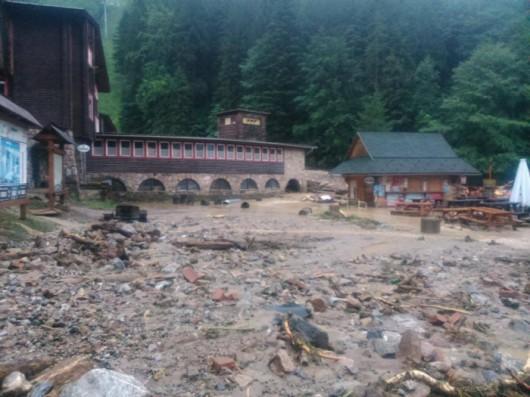 Słowacja - Powódź zniszczyła Dolinę Vratna 4