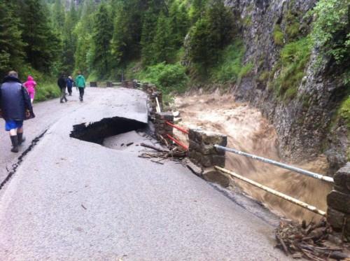 Słowacja - Powódź zniszczyła Dolinę Vratna 5