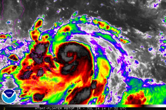 Tajfun Rammasun 1