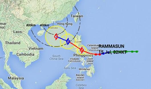 Tajfun Rammasun 2