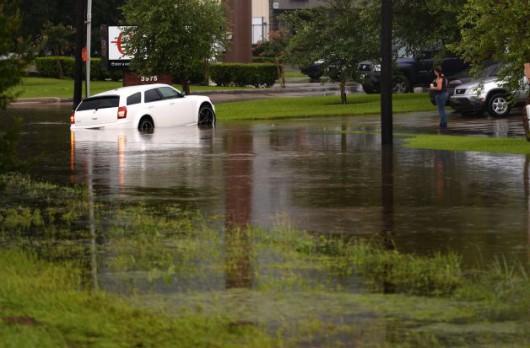 USA - Błyskawiczne powodzie w Teksasie 2