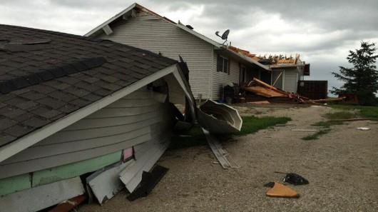 USA - Burze i tornada nawiedziły środkowo-zachodnie stany 3
