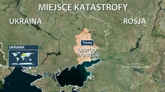 Ukraina - Rozbił się Boeing 777 malezyjskich linii lotniczych z 298 osobami na pokładzie 2