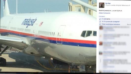 Ukraina - Rozbił się Boeing 777 malezyjskich linii lotniczych z 298 osobami na pokładzie