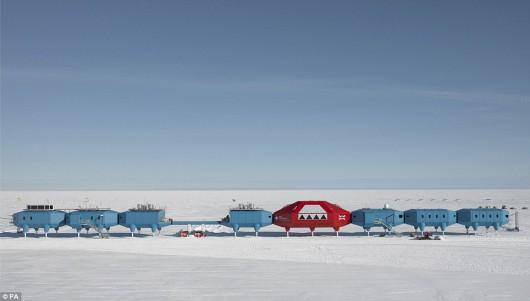 Antarktyda - Brytyjska stacja badawcza Halley