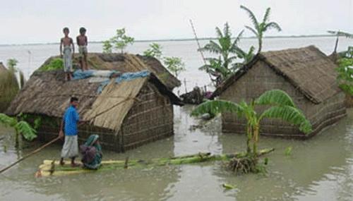 Bangladesz - Powódź 2