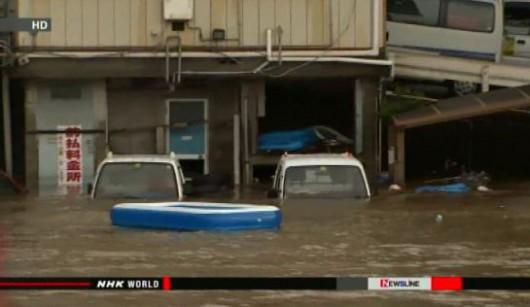 Chiny - Katastrofalne powodzie odcięły ludzi od świata, zniszczone domy, drogi, uprawy 3