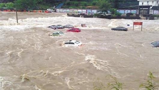 Chiny - Powódź 3