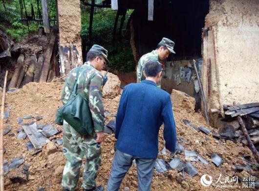 Chiny - Trzęsienie ziemi w prowincji Yunnan, magnituda 5.0, spore zniszczenia 4