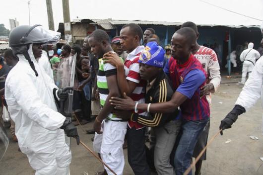 Ebola - Afryka