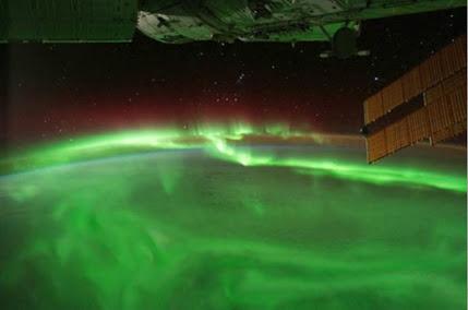 ISS - Zorza polarna