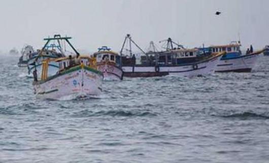 Indyjskie kutry w Zatoce Bengalskiej