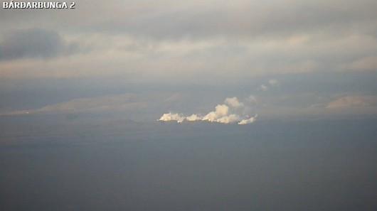 Islandia - Mała erupcja wulkanu Bárðarbunga