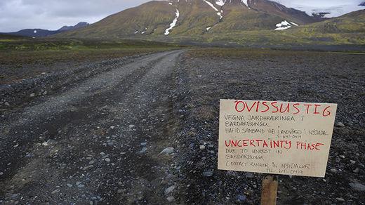 Islandia - Ostrzeżenie