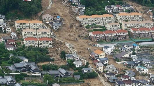 Japonia - Do 50 osób wzrosła liczba ofiar osuwiska ziemi w Hiroszimie, zaginionych jest 38 osób