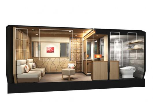 Japonia - W 2017 roku zacznie kursować wyjątkowo luksusowy pociąg 6