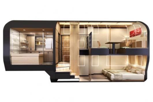 Japonia - W 2017 roku zacznie kursować wyjątkowo luksusowy pociąg 7