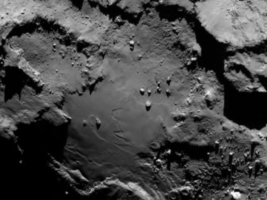 Kometa 67P/Churyumov-Gerasimenko widziana okiem instrumentu pokładowego OSIRIS (Rosetta's Onboard Scientific Imaging System)